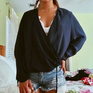 NEW Urban Outfitters silky blouse